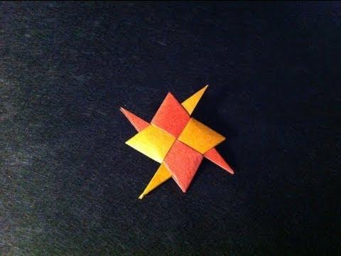 Origami Ninja Star - Modular Origami