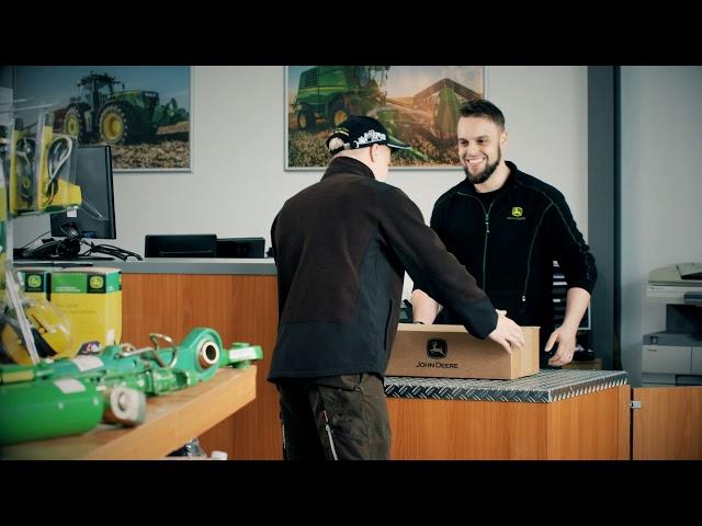 John Deere Dealer Logistiek - Vervanging van buitenspiegel