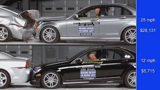 Speed reduction benefits of front crash prevention systems thumbnail