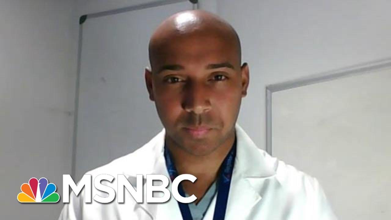 ER Doc Starts Program That Registers Patients To Vote | Hallie Jackson | MSNBC