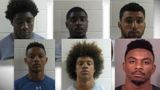 6 Notre Dame football players arrested