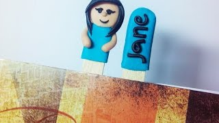 How To Make Cute Popsicle Stick Bookmarks - Diy Crafts Tutorial - Guidecentral