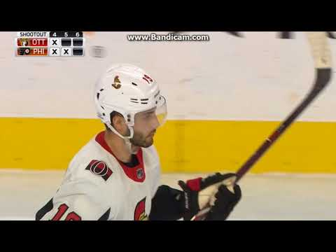 Ottawa Senators vs Philadelphia Flyers: Shootout