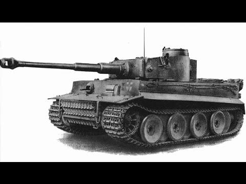 Т-34 против Тигра кокпит и приборы наблюдения Тигра