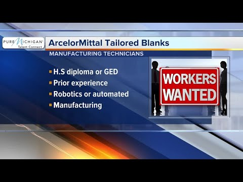 ArcelorMittal Tailor Banks needs manufacturing technicians