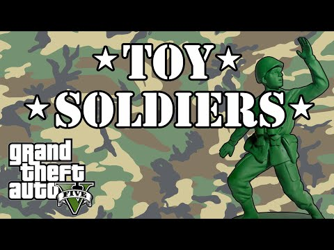 Toy Soldiers | GTA 5 Tilt Shift / Miniature Army