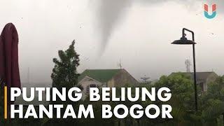 Download Video Kota Bogor Porak Poranda Dihantam Puting Beliung MP3 3GP MP4