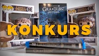 KONKURS: wygraj DVD Z SEZONAMI 1-8 GRY O TRON, blu-ray i DVD z 8 sezonem + Tyriona :)