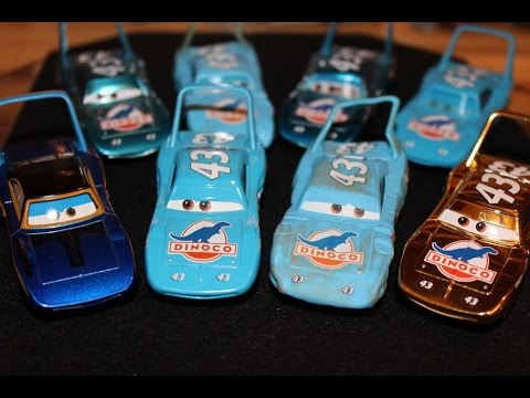 Mattel Disney Cars All The King Strip Weathers Variations