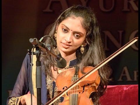 MERU Concert  - Ragini Shankar on violin - Raga Bihag
