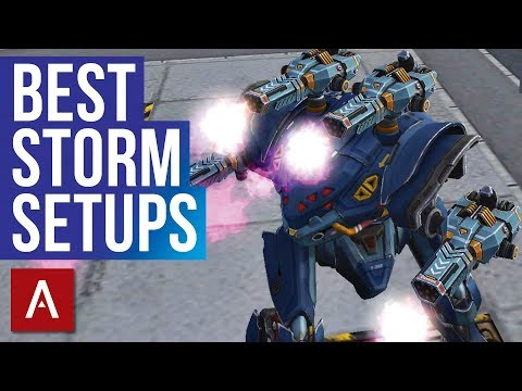 War Robots: BEST STORM SETUPS | compilation
