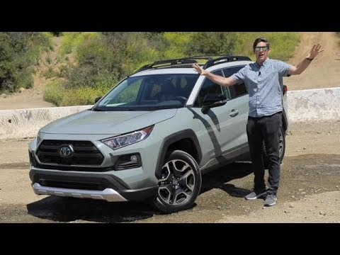 2019 Toyota RAV4 Adventure AWD Test Drive Video Review