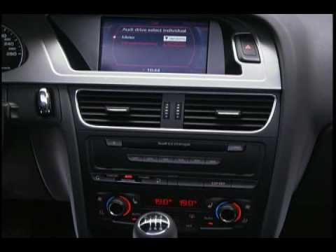 New 2009 Audi A4 Interior And Driving Youtube