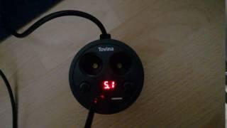 Produkttest Becherhalter KFZ-Ladegerät - Tevina Dual 2 USB Port 2 Zigarettenanzünder