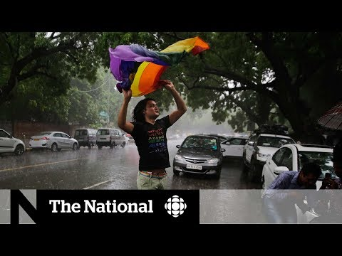 Gay sex ban overturned in India