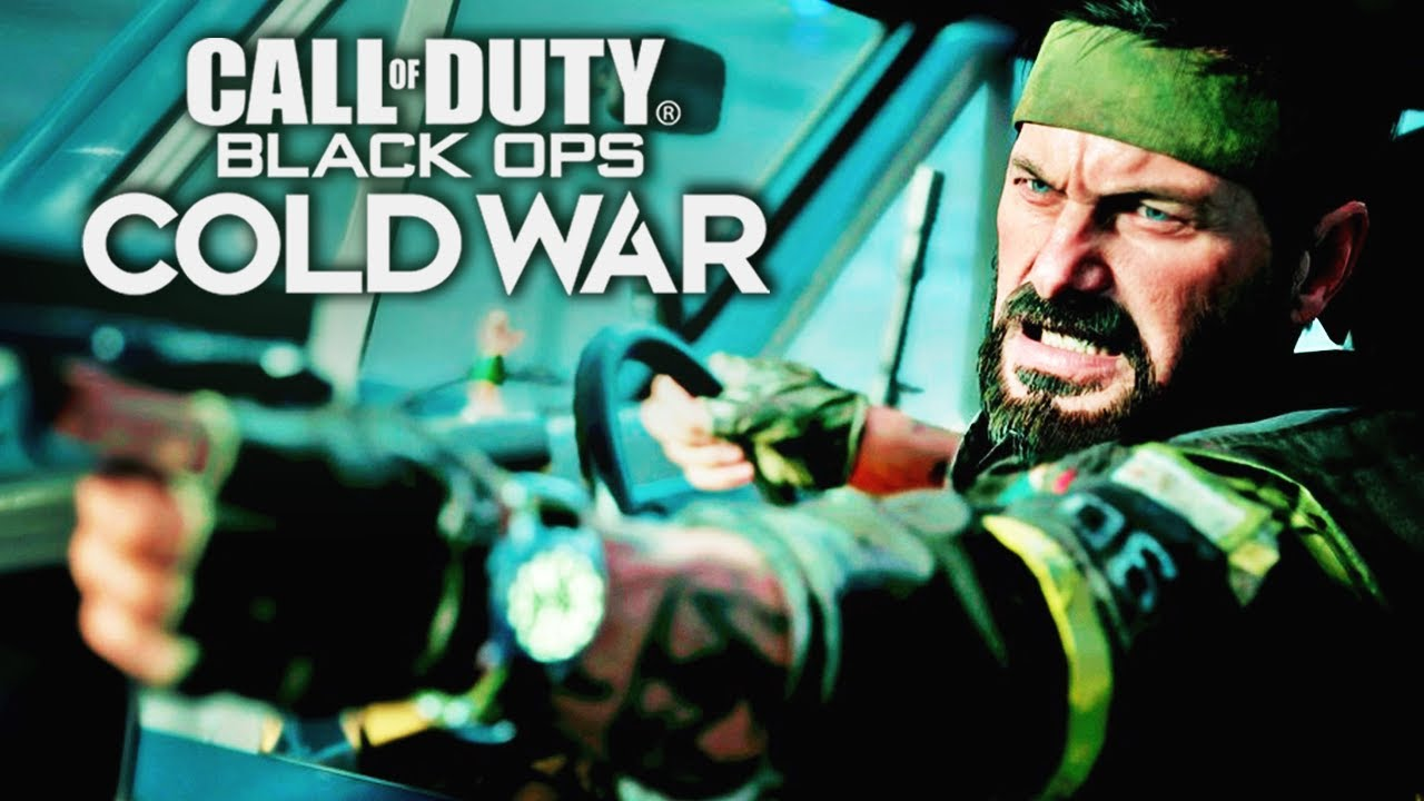 Call Of Duty Black Ops Cold War Official 4k Reveal Trailer Youtube