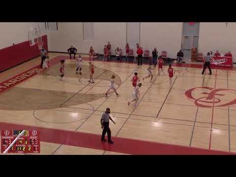 Cor Jesu Academy vs. Visitation Academy H JV Womens' Basketball