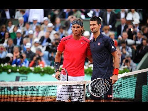 Nadal vs. Djokovic 2012 French Open Final Part 1