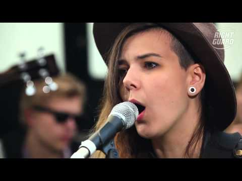 """Of Monsters and Men perform """"Slow and Steady"""" Exclusively for OFF GUARD GIGS, Latitude, 2012"""