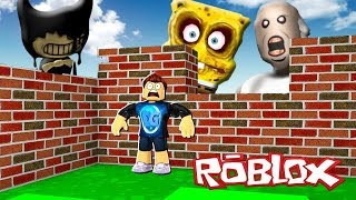 SURVIVE THE ROBLOX MONSTERS!! (Bendy, SpongeBob, Granny)