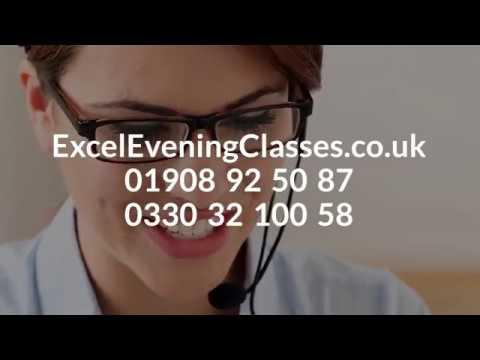 Excel Evening Classes Milton Keynes