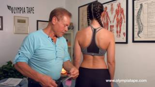 Dr  Franco Columbu's Solution For Computer Neck - Olympia Tape