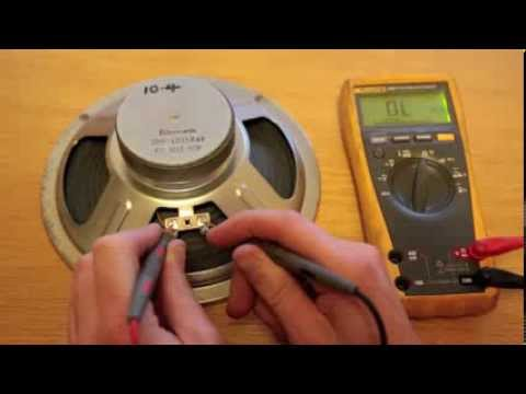 Test Guitar Wiring Multimeter : how to test if speaker is damaged youtube ~ Hamham.info Haus und Dekorationen