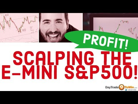 Scalping E-Mini S&P500: Day Trading Strategy