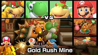 Super Mario Party Partner Party Gold Rush Mine 20 Turns #8
