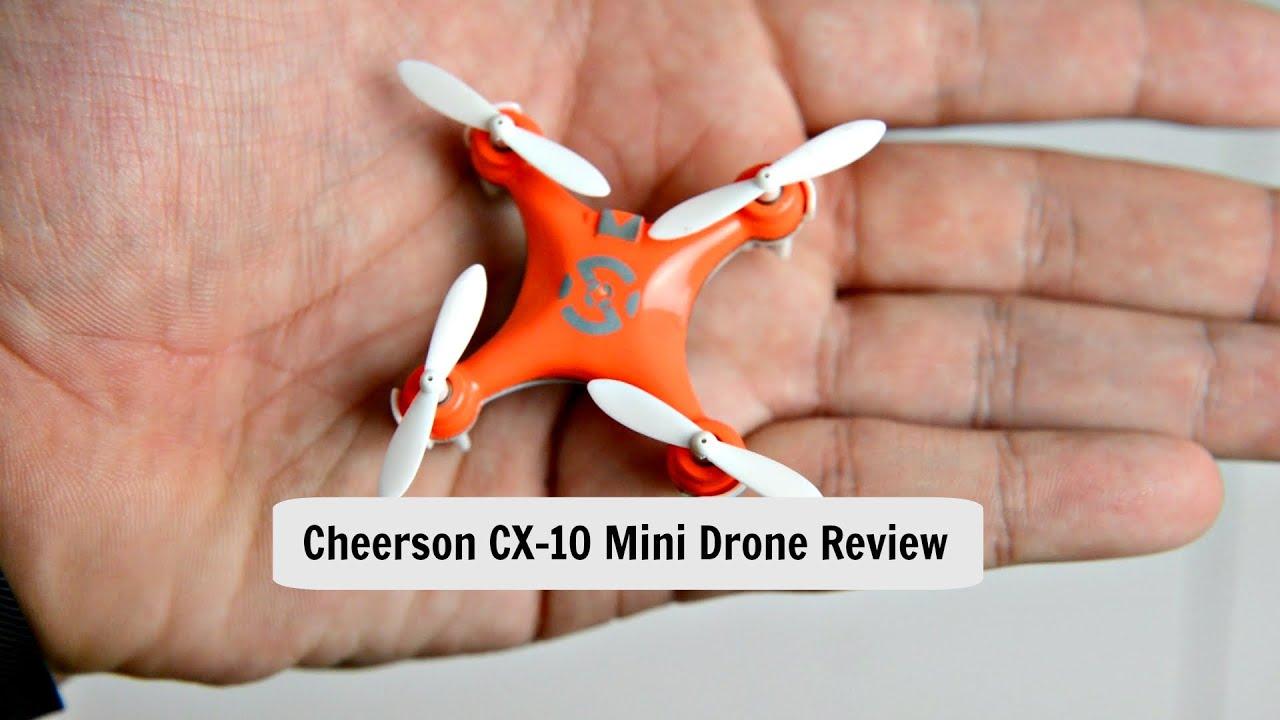 Cheerson CX10 Mini Quadcopter Review Worlds Smallest Drone