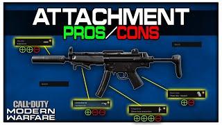 All Attachment Pros/Cons in Modern Warfare! | Gunsmith Deep Dive!