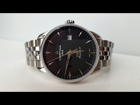 CERTINA DS-1 automatic C029.807.11.051.00. Обзор (Review)