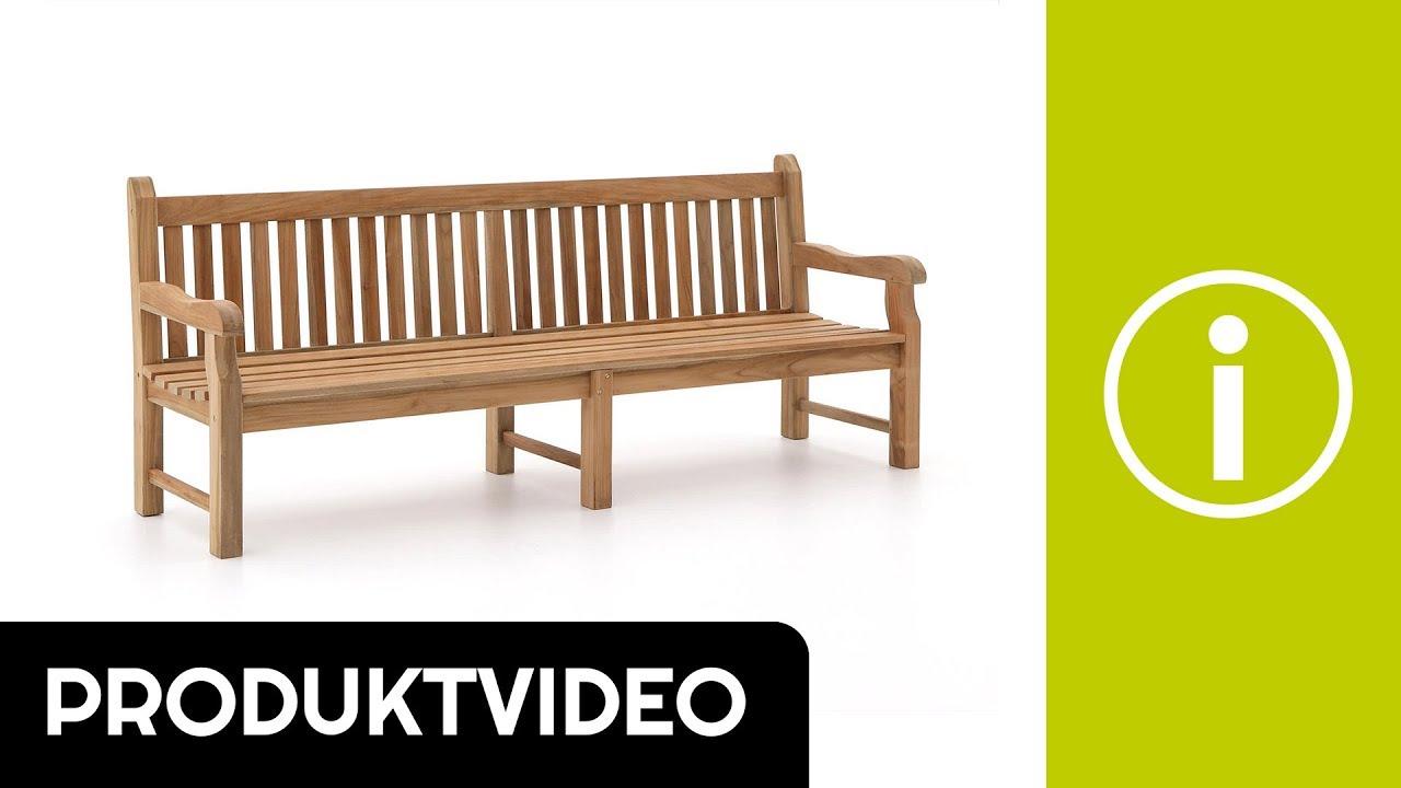 Produktvideo sunyard edinburgh gartenbank 240 cm kees - Kees smit gartenmobel ...