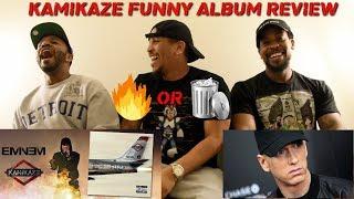 Eminem - Kamikaze FUNNY Album Reaction & Review