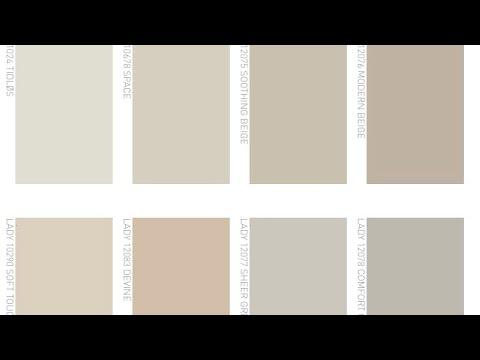 Le pareti color sabbia tortora stanno bene ovunque in casa, specie in soggiorno, camera da letto e in bagno,. Colori Neutri Tortora Grigio E Colore Sabbia Youtube