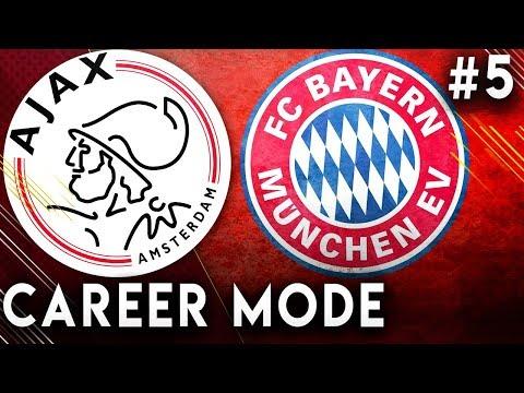 FIFA 19 Ajax Career Mode EP5 - Incredible Champions League Drama!!