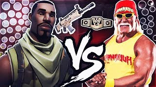 HULK HOGAN PLAYS FORTNITE BATTLE ROYALE! [Funny Moments]