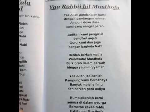 Majelis Warotsatul Musthofa - yaa Robbi bil Musthofa