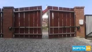 Автоматика для распашных ворот Faac 414 Днепр - VOROTA24.COM.UA(, 2017-04-12T06:54:03.000Z)