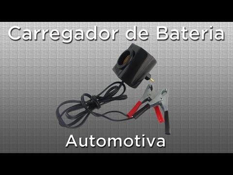 Como fazer carregador de bateria automotiva com luz incandescente