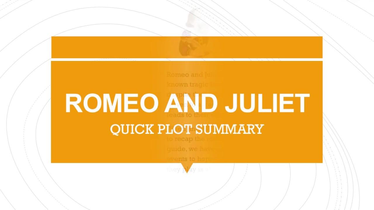shakespeare romeo and juliet summary