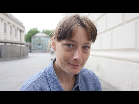 Stephanie is a homeless veteran sleeping rough in London.