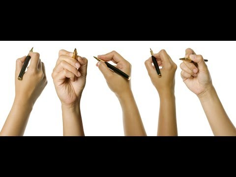 How To Hold Your PEN Properly For Better Handwriting