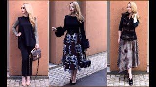 Покупки Одежды ,Примерка ,Тренды ,Осенние Образы