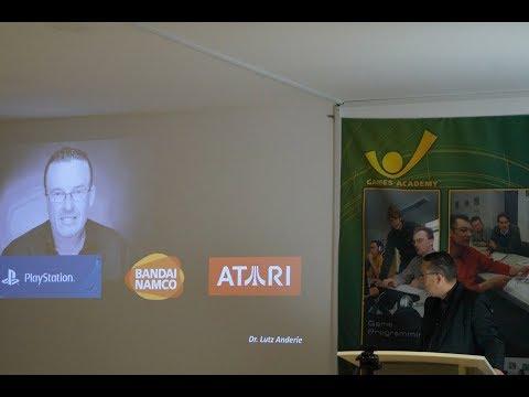 DevDay: Game Business Erfolgsfaktoren, Dr. Lutz Anderie, Games Academy Berlin, Livestream 31.01.2018