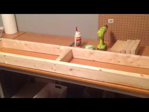 Building a DIY Wood Aquarium Stand for Multiple Aquariums