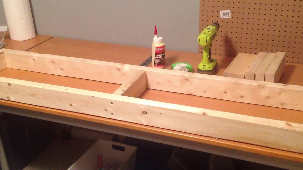 Building A Diy Wood Aquarium Stand For