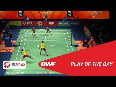 Play of The Day | Badminton Finals - Princess Sirivannavari Thailand Masters 2018 | BWF 2018