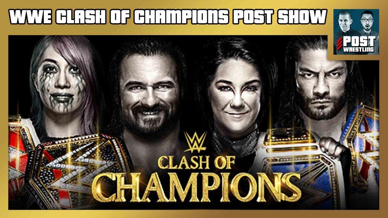 Download WWE Clash of Champions POST Show: Roman Reigns vs. Jey Uso, Drew McIntyre vs. Randy Orton