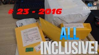 Розпакування посилок з Aliexpress # 23 - 2016 Диско куля працював не довго :-)